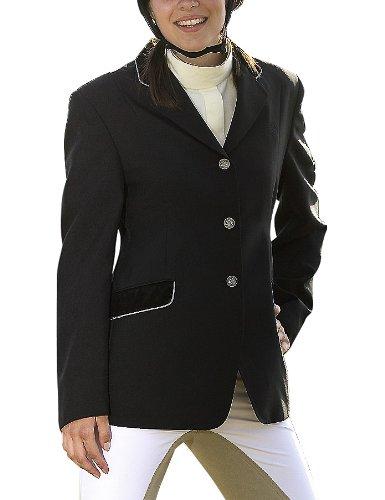 USG - Abrigo de equitación para mujer con cuello de ...