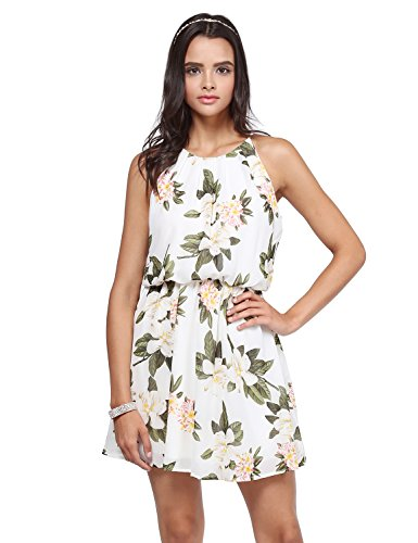 Princess Solid Women's Awesome21 Printed Doll Dress Awdsd0680 Waistband Elasticized Baby Ivory B0BnrA6W