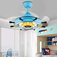 Ventiladores para el Techo con Lámpara Ventilador de Techo LED ...