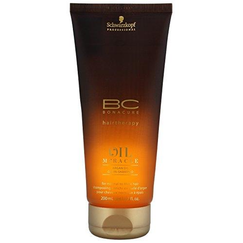 Schwarzkopf Professional BC Bonacure Oil Miracle Argan Oil - Oil-In-Shampoo 200ml (Shampoo Smooth Bonacure Shine)