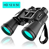 Binoculars for Adults Kids, Baberdicy 12x50...
