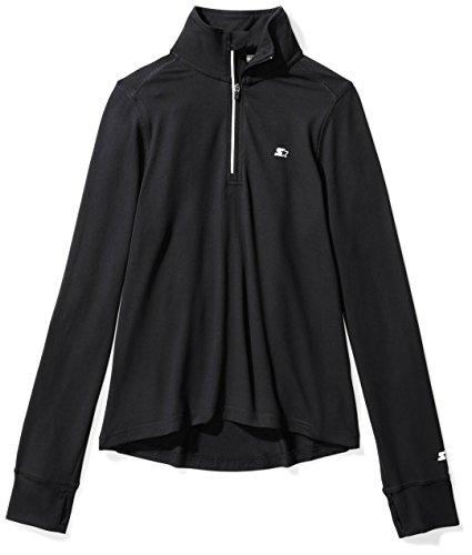 Sleeve Half-Zip Top, Prime Exclusive, Black, M (7/8) (Storm Fit Half Zip)