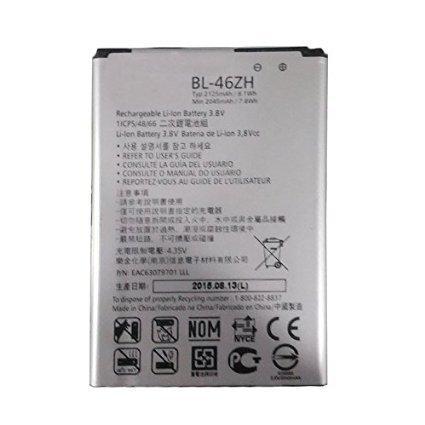 New 2125mAh BL-46ZH Battery for Leon Tribute 2 K7 LS675 D213 H340 L33 X210