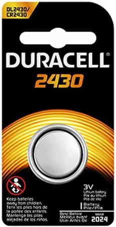 DURACELL DL-2430B Long-Life Lithium Button Cell Battery