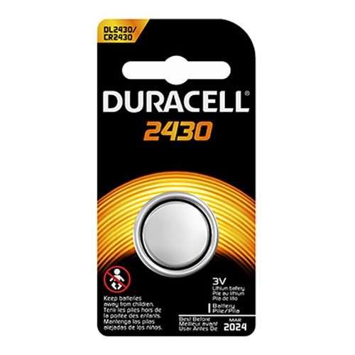 DURACELL DL-2430B Long-Life Lithium Button Cell (Duracell Battery Life)