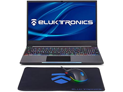 "Eluktronics MECH-15 G2Rx Slim & Light NVIDIA GeForce GTX 1660Ti Gaming Laptop with Mechanical RGB Keyboard - Intel i7-9750H CPU 6GB GDDR6 VR Ready GPU 15.6"" 144Hz Full HD IPS 512GB NVMe SSD + 16GB RAM"