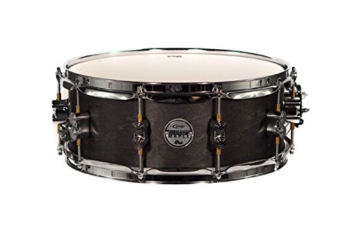 PDP By DW Black Wax Maple Snare Drum 5.5x14