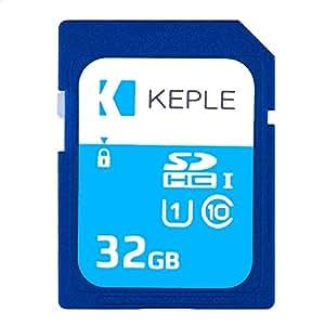 Keple Tarjeta de Memoria SD de 32GB Tarjeta SD de Velocidad Rápida para Sony Alpha a6000, 7s, a5100, 7 II, 7R II, NEX-F3, NEX-5R DSLR Cámaras ...