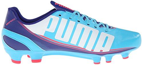 3 White Bright Womens Blue Shoe Clematis Blue Training FG PUMA Plasma Atoll 5 Evospeed xtqwqa4