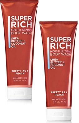 (Bath and Body Works 2 Pack Pretty as a Peach Moisturizing Body Wash 10 Oz)