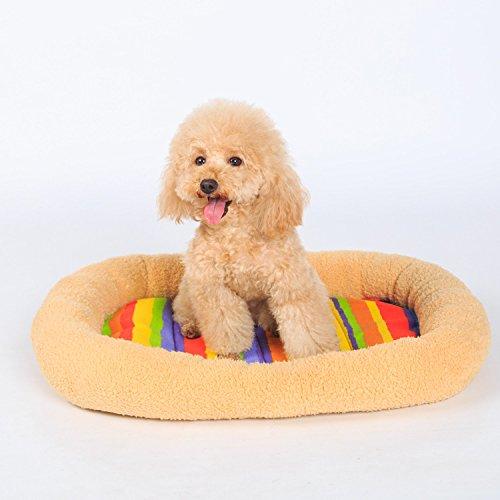 spedizione gratuita Sun Glower Coperta delle forniture forniture forniture dell'animale Cuccia per animali domestici Letto per cani in cotone  l'intera rete più bassa