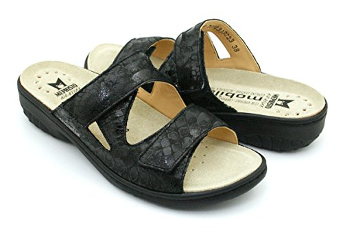 MOBILS by MEPHISTO Women's Fashion Sandals Black JKbnvKrAy