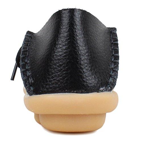 FangstoLoafer Flats - zapatilla baja mujer negro