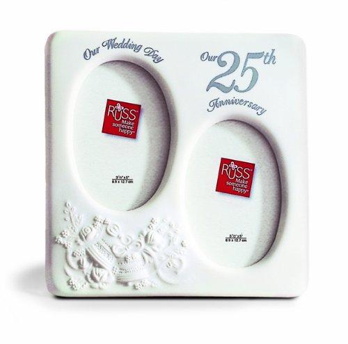(Russ 25th Anniversary Porcelain Frame)