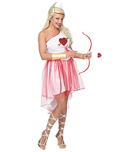 Amor Liebesgöttin Kostüm Gr M Cupid Damen mit Kleid Petticoat Gürtel ...