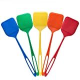 ORIGINAL SMART SWATTER Fly Swatter - (Comes in Pack of 2 Swatters, Colors May Vary) PICKS UP BUG w/904 Spikes, Patented & Made in USA, Insects, Bugs, Spiders, Fly Killer