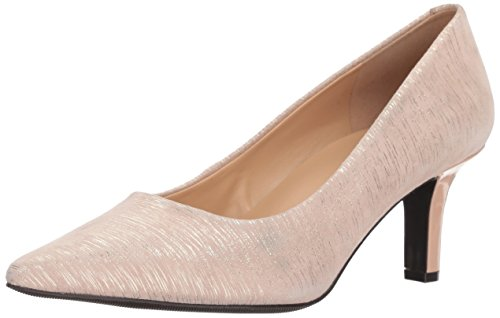 Trotters Womens Noelle Dress Pump Tan Metallic