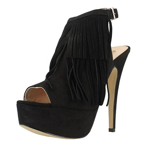 Sandalias y chanclas para mujer, color Negro , marca LA STRADA, modelo Sandalias Y Chanclas Para Mujer LA STRADA JAKCY Negro Negro