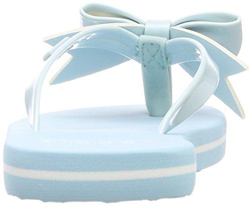 ESPRIT Unisex-Kinder Doro Bow Pantoletten Blau (Pastel Blue)