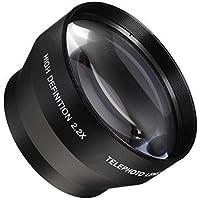 40.5mm Telephoto Conversion Lens 2.2x Teleconverter for Sony Alpha a6500, a6300, a6000, a5000, a5100, a3000 Nikon 1 AW1, J1, J2, J3, J4, S1, S2, V1, V2 Mirrorless Digital Camera