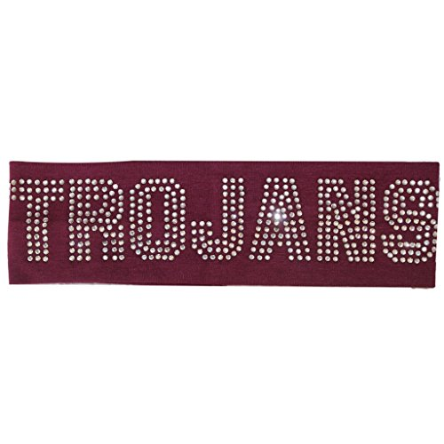 Girls/Womens Rinestone Trojans School Mascot/Team Heaband-11 colors