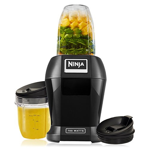 -[ Nutri Ninja 700W Personal Blender - BL457UK - Black  ]-