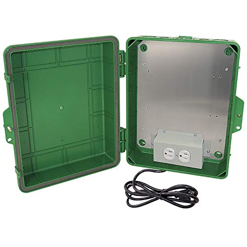 Altelix Green NEMA Enclosure 14x11x5 (9.5