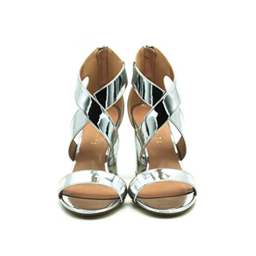 Talons Sandales Party Confortable Talon Cross Xie Mesdames Shallow À Take Beige Straps Buckle Mouth Chaussures Hauts Simples Fish Fin Hr6q0Ty6X
