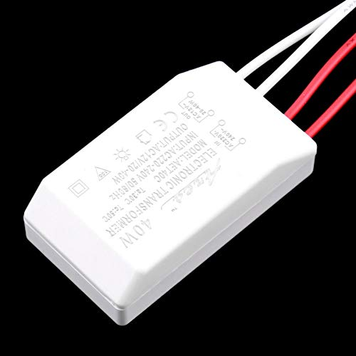 likkas Practical AC//DC Adapters 40W Output 12V Halogen LED Lamp Electronic Transformer Power Supply Driver Adapter