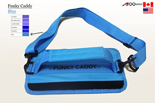 C12 A99 Golf Funky Caddy Golf Bag Driving Range Carrier Sleeve with velcro Blue - Easy to carry