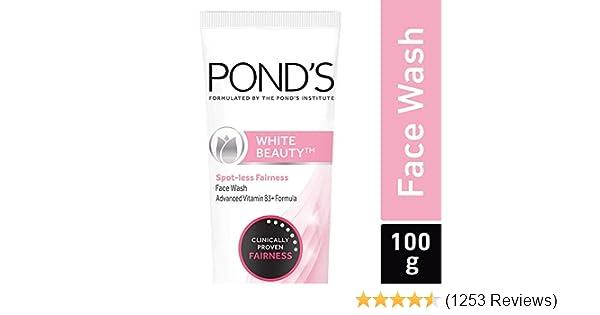 Pond's White Beauty Spot Less Fairness Face Wash, 100 g