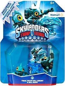 Skylanders TRAP TEAM Exclusive Skylanders Buddy Pack Tidal Wave Gill Grunt & Gill Runt