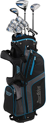 Tour Edge Unisex B3SRGU11.B Bazooka 360 Teen Golf Set Right Hand, Black/Blue ()