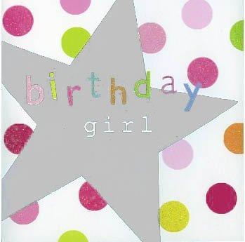 2 por 1 Oferta!!! Estrella de plata, chica del cumpleaños ...