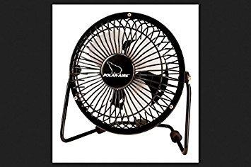 "Hi Velocity Fan 4"" Black"