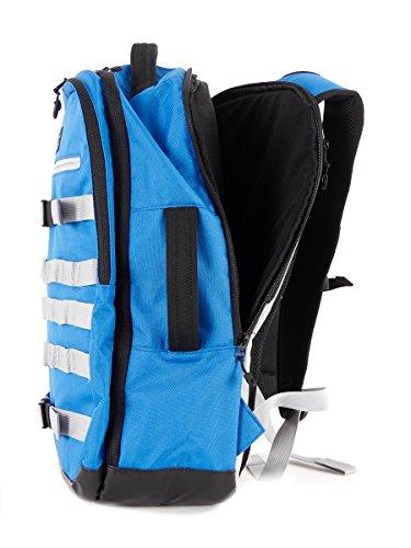 O'Neill Rucksack Laptoptasche Ruckus blau 2-Wege-Zipper 30 Liter