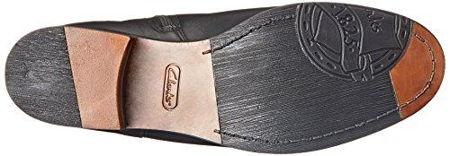 Clarks Hopedale deseo de arranque Black Combination Leather