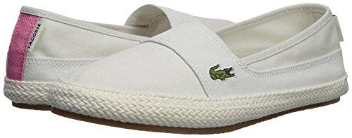 Lacoste Women's Marice Sneaker, Off White Hemp, 7 Medium US