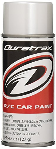 DuraTrax Polycarbonate Radio Control Vehicle Body Spray Paint, 4.5 Ounces, Pearl Translucent