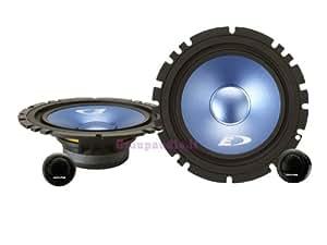 Alpine SXE-17CS altavoz audio - Altavoces para coche (De 2 vías, 280W, 45W, 16,5 cm, 16,5 cm, 4,6 cm)