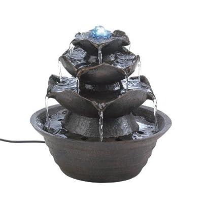 Lotus Tabletop Water Fountain
