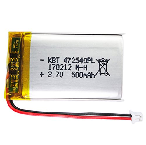 Be oneself 3.7V 500mAh Lithium Polymer mini rechargeable battery 472540 Li-ion Li-Po for #11 keychain camera