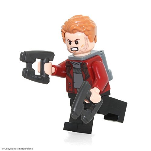 LEGO Guardians of the Galaxy Vol. 2 Star Lord Minifig