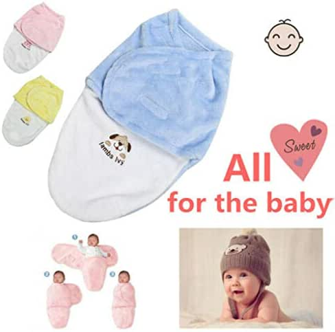 Eve.Ruan Cute Unisex Comfortable Safety Breathable Fabric Baby Blanket Wrap Sleeping Bag for 0-12 Months Infant Newborn Baby, Sputum Technique Mimics The Uterus, Making Your Baby Feel Safe and Warm