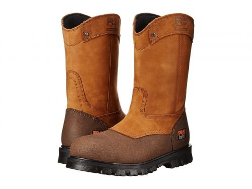 Timberland PRO(ティンバーランド) メンズ 男性用 シューズ 靴 ブーツ 安全靴 ワーカーブーツ Rigmaster Pull-On Steel Toe Waterproof Wheat Bandit [並行輸入品] B07DNQ1CJ5 14 D Medium