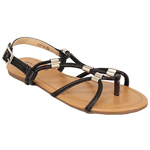Ladies' Stylish cm Sandals Black - 839709