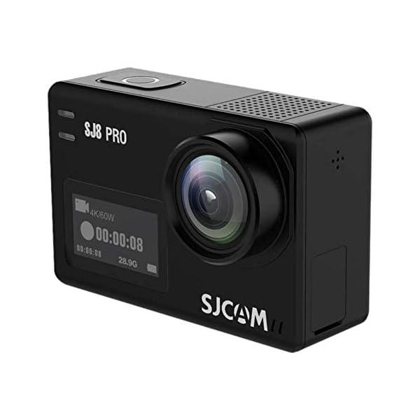 RetinaPix SJCAM SJ8 Pro 12 MP 4k Waterproof Action Camera with Dual Screen