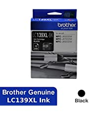 BROTHER Genuine LC139XLBK High-Yield Ink Cartridge, Black, Page Yield Up to 2400 Pages, (LC139XLBK)