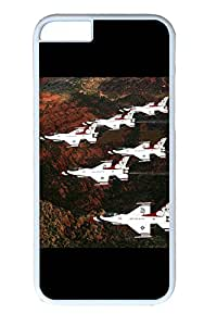 iphone 6 4.7inch Case and Cover Fighter Jets 5 PC case Cover for iphone 6 4.7inch White