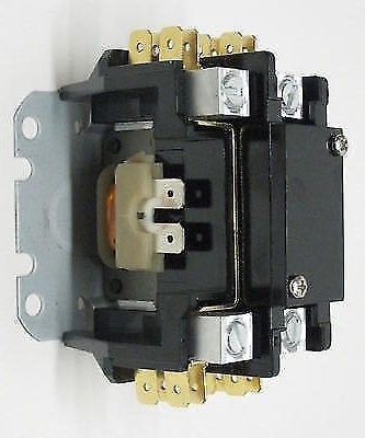 Room Air Conditioner Replacement Parts C140A Contactor Single One 1 Pole 40 Amps 24 Volts A/C Air Conditioner NEW